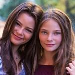 Eleonora Gaggero with her Sister