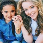 Jade Pettyjohn with her Sister