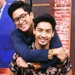 Peter Adrian Sudarso with Brother